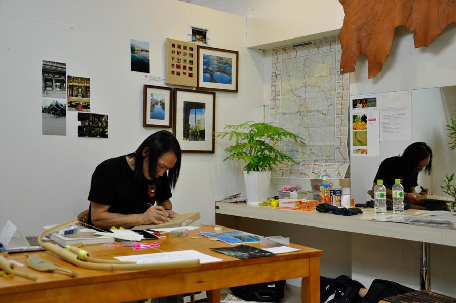 16_Choja-machi DEKITATE Kobo_Upcoming_26 days work in progress_Aichi Triennale_2010