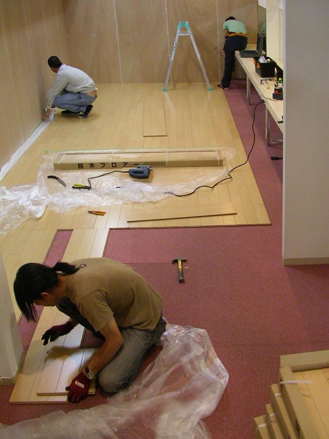 1_Choja-machi-DEKITATE-Kobo_installation-view_Aichi-Triennale_2010
